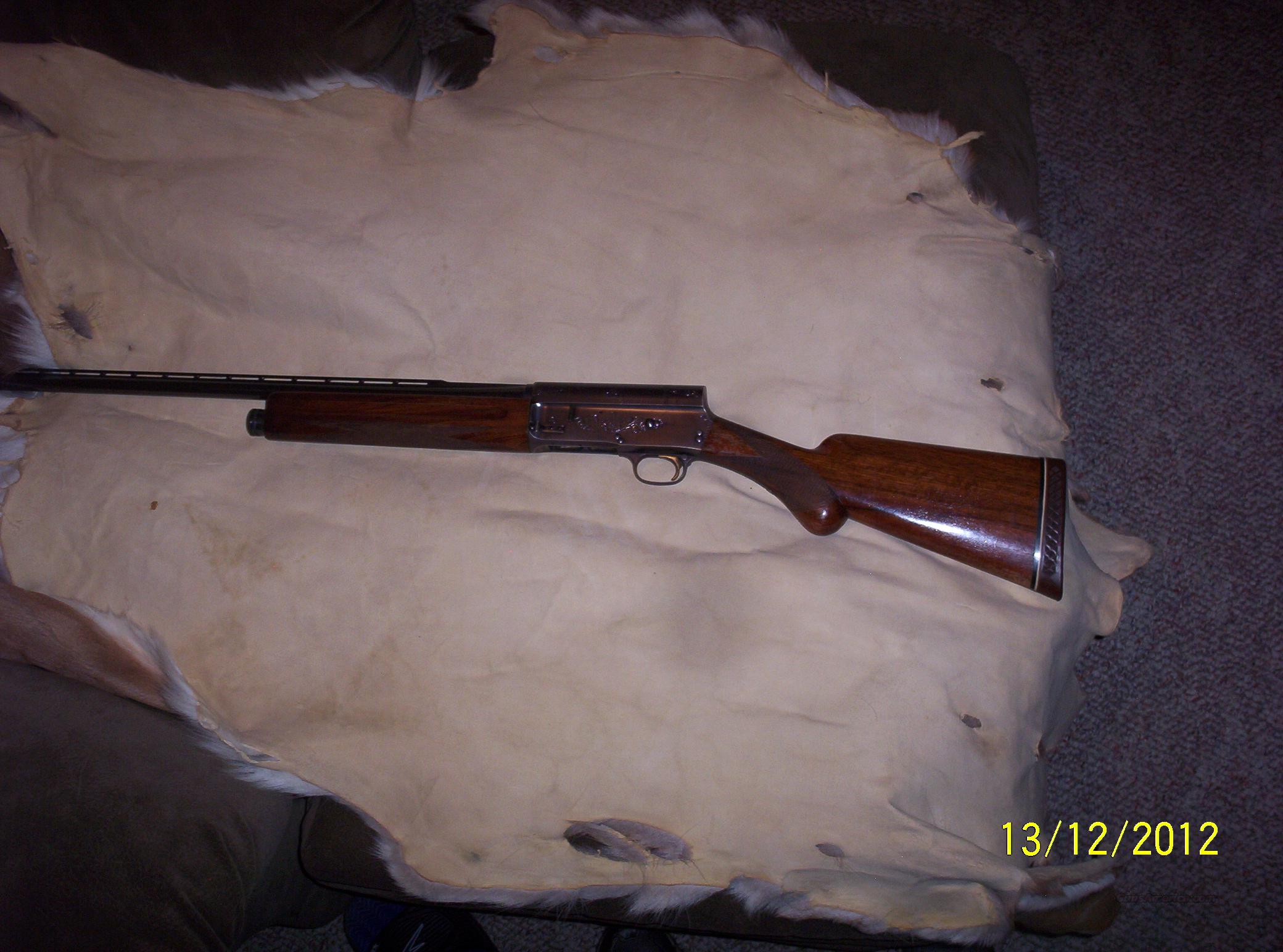 Browning-Belgium 20gauge  Guns > Shotguns > Browning Shotguns > Autoloaders > Hunting