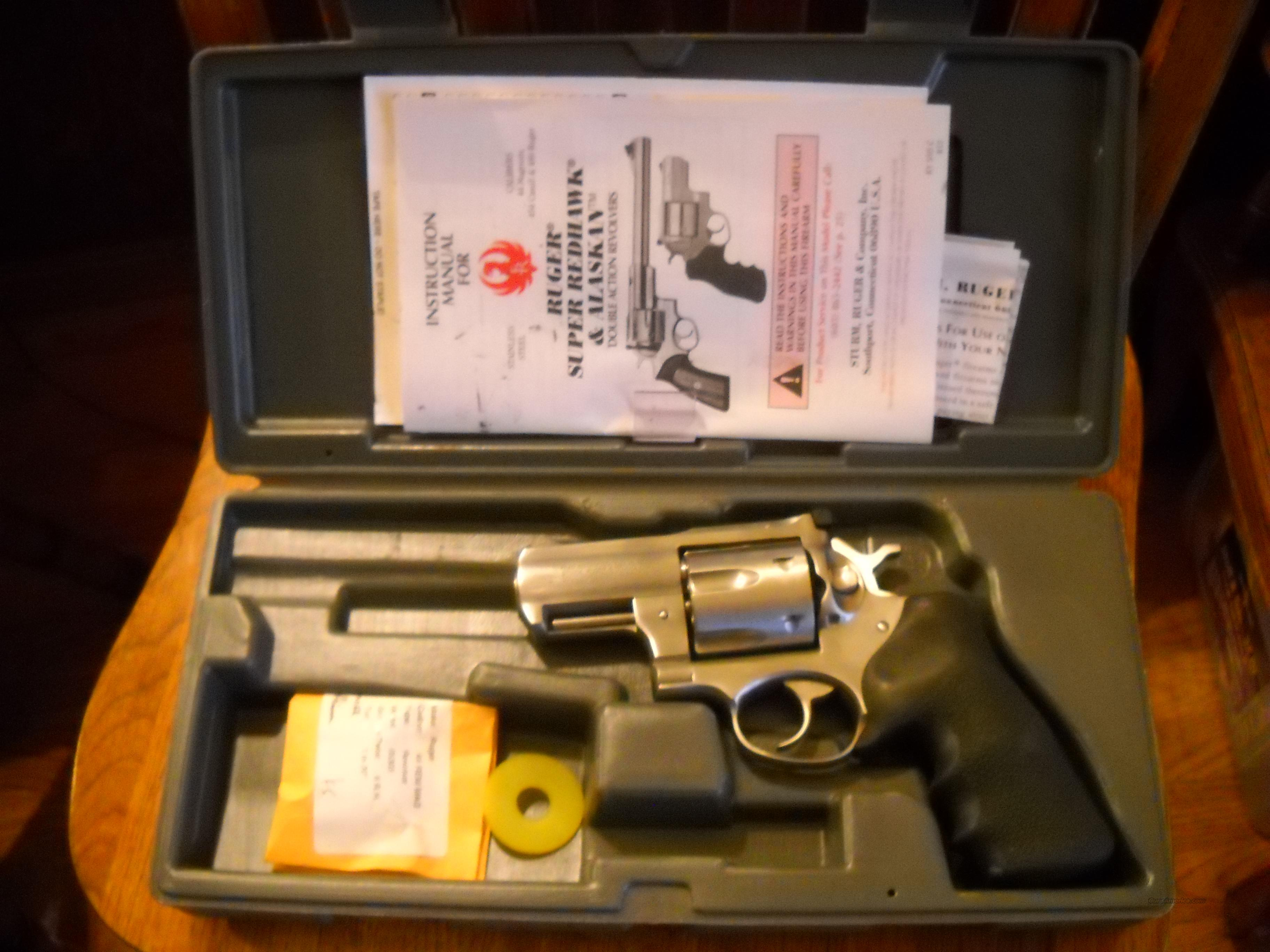 "Ruger Alaskan 2"" barrel .44 magnum Super Redhawk with holster  Guns > Pistols > Ruger Double Action Revolver > Redhawk Type"