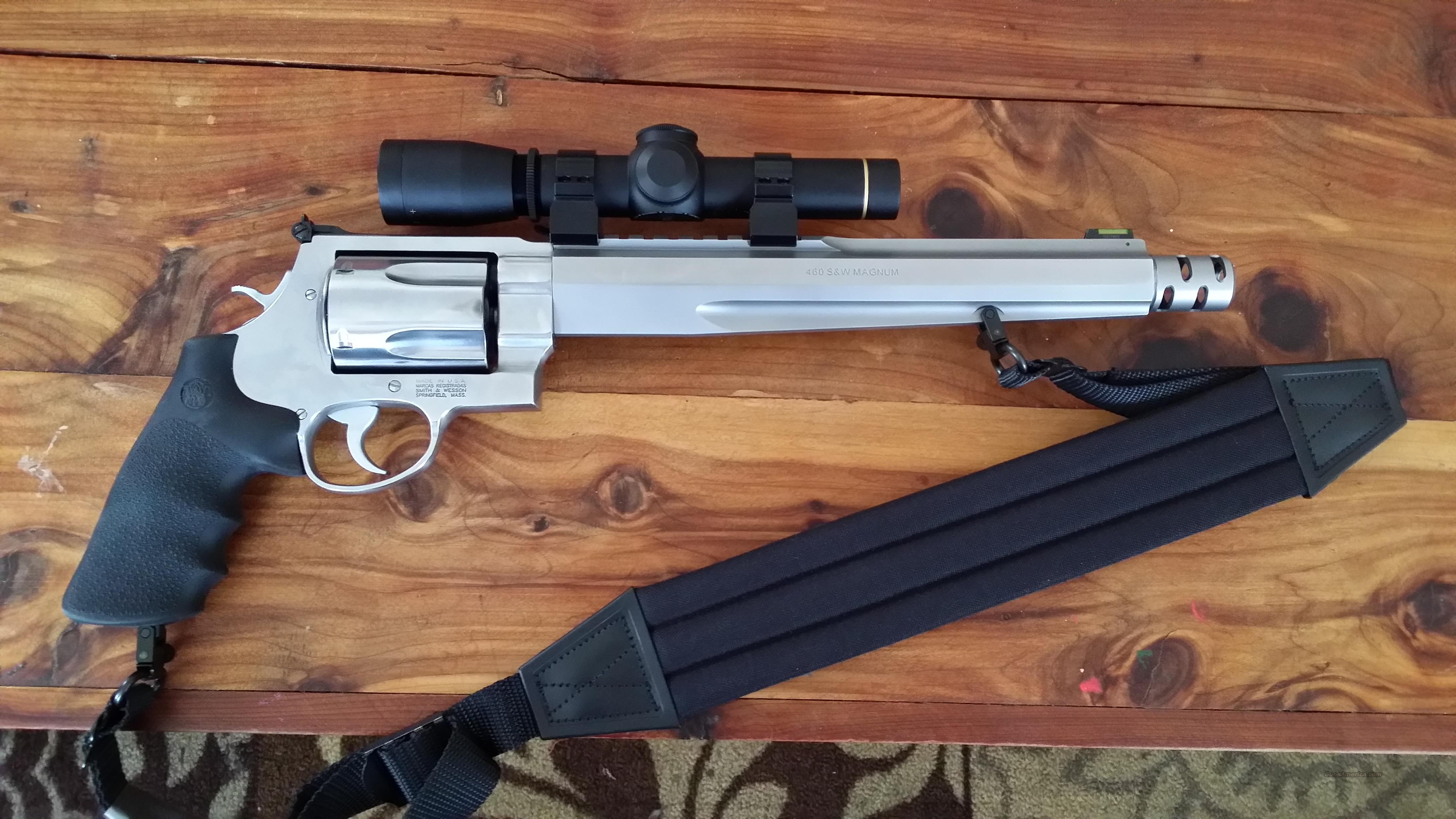 2014 Smith & Wesson .460 XVR & Top Quality Leupold Scope  Guns > Pistols > Smith & Wesson Revolvers > Performance Center
