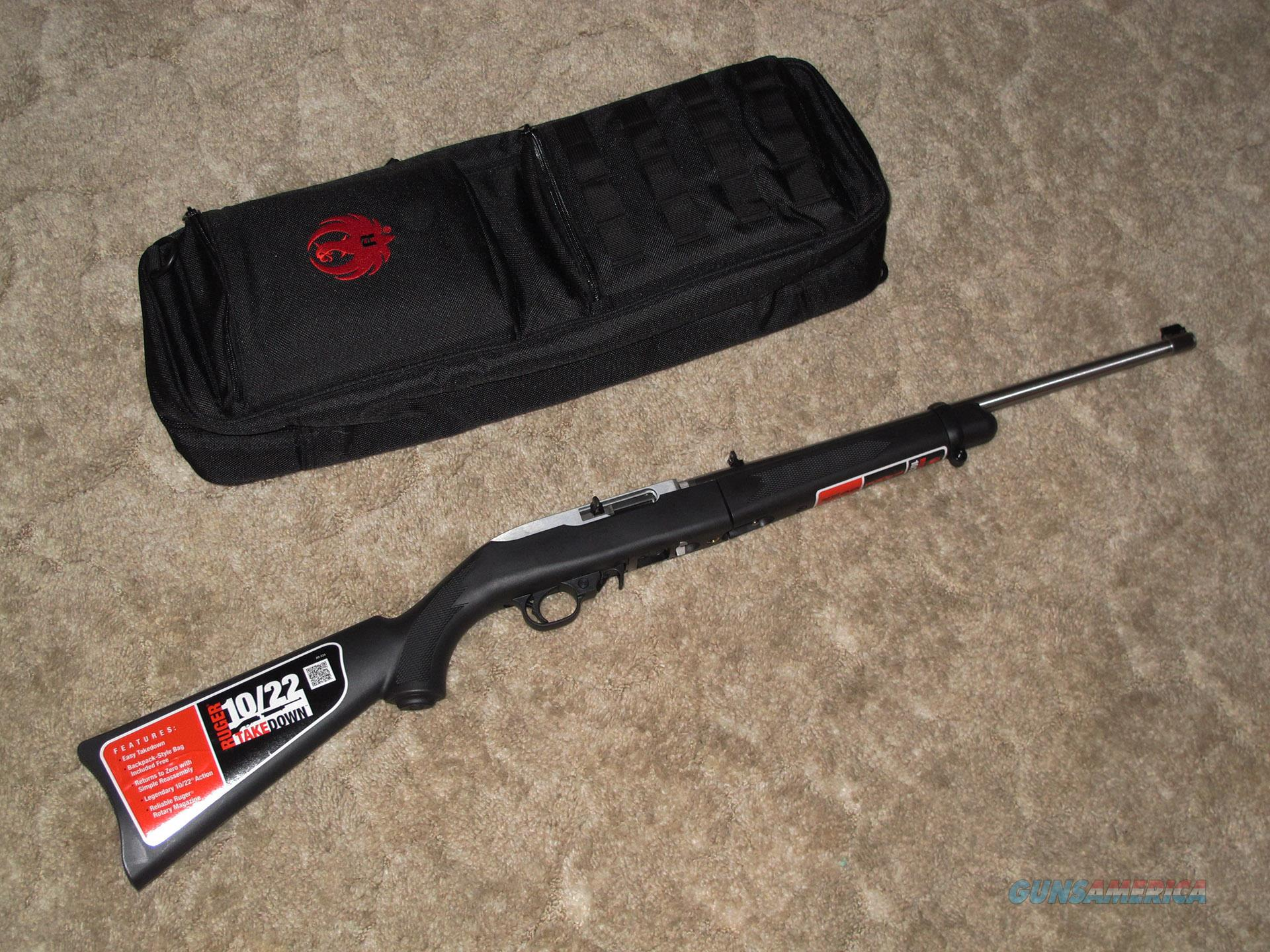 Ruger 10/22 Stainless Takedown  Guns > Rifles > Ruger Rifles > 10-22