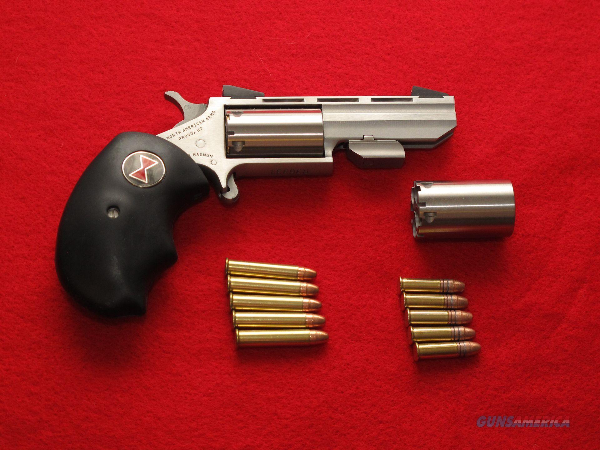 North American Arms - Black Widow .22 Mag / .22 LR with Laser  Non-Guns > Ammunition