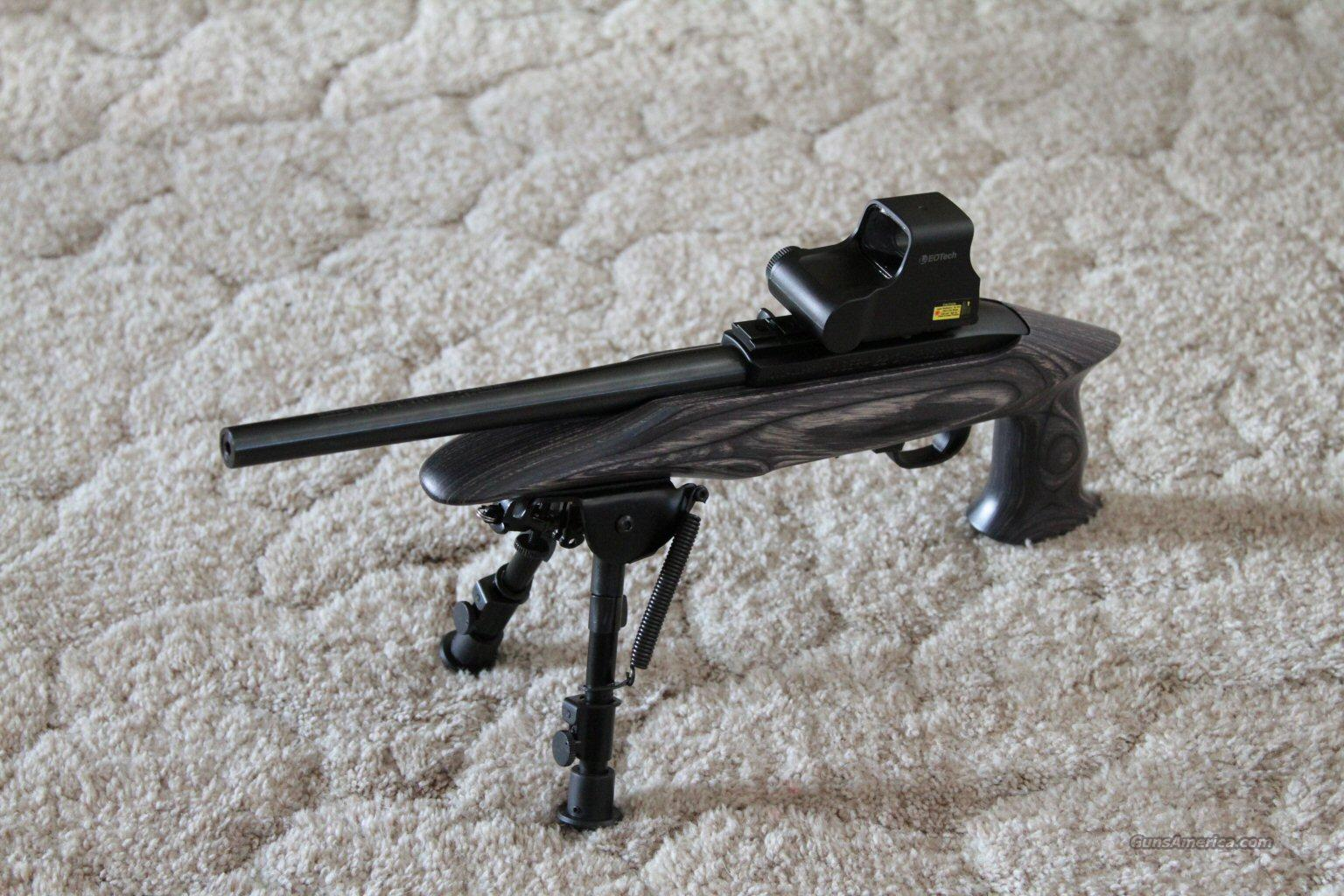 Ruger Charger .22LR with EoTech RimFire Optics 10/22  Guns > Pistols > Ruger Semi-Auto Pistols > Charger Series