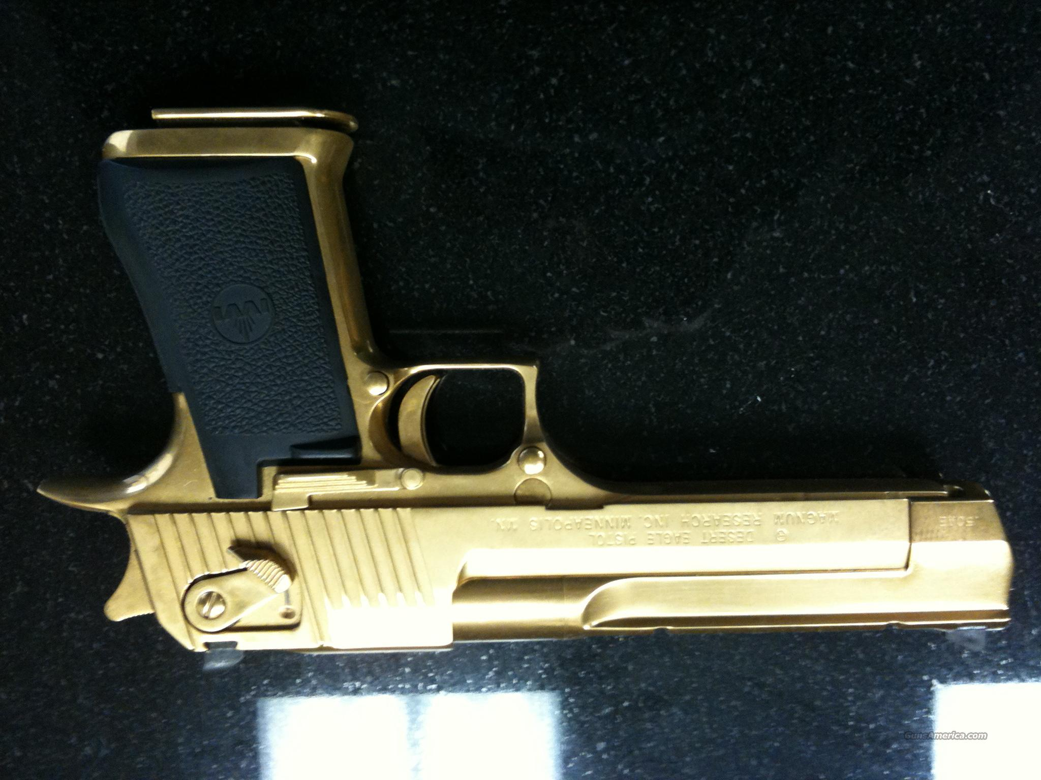 .50 Caliber Gold Plated Desert Eagle  Guns > Pistols > Desert Eagle/IMI Pistols > Desert Eagle