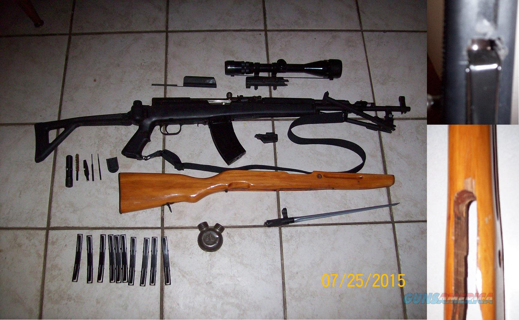 SKS with lots of extras!  Guns > Rifles > SKS Rifles