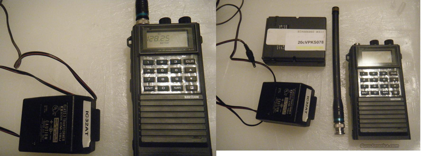 ICOM IC-A20  Non-Guns > Communication/Radios/Talkabout