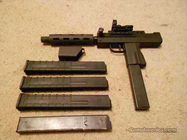 MPA 30 with 5 magazines, hand extension, and Optical sight  Guns > Pistols > Mac-10 Pistols