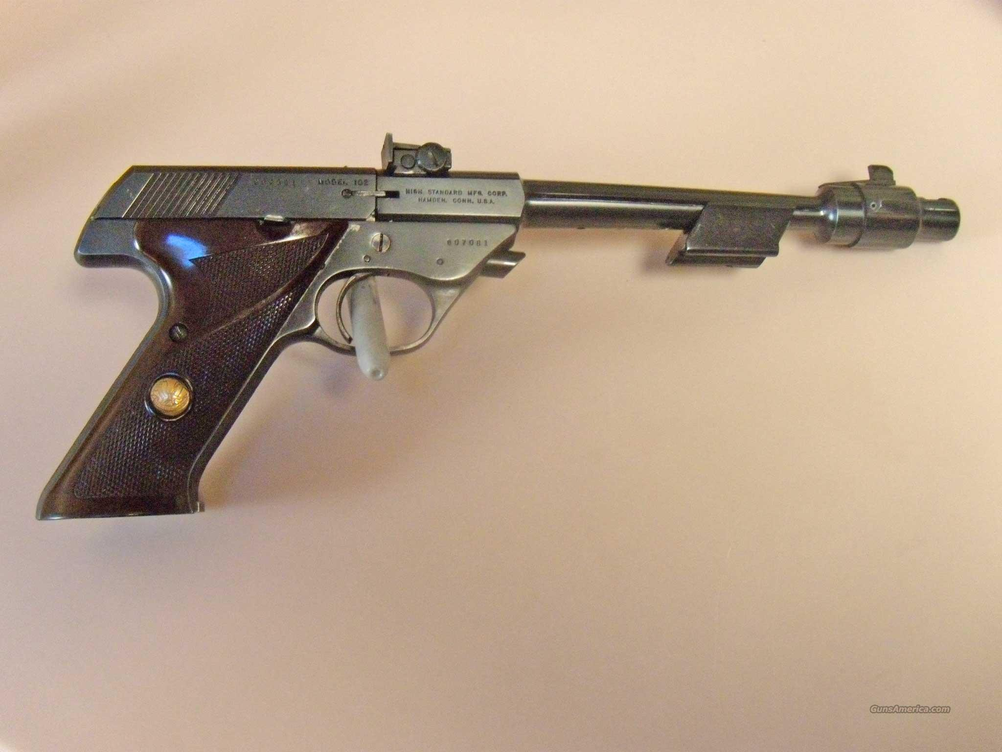 HIGH STANDARD,102, SUPERMATIC CITATION  ''SPACE GUN''  Guns > Pistols > High Standard Pistols