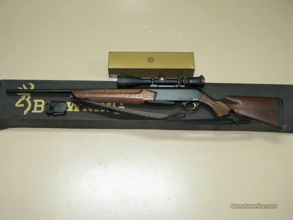 Browning BAR Shorttrac .308 with Leupold scope NIB  Guns > Rifles > Browning Rifles > Semi Auto > Hunting
