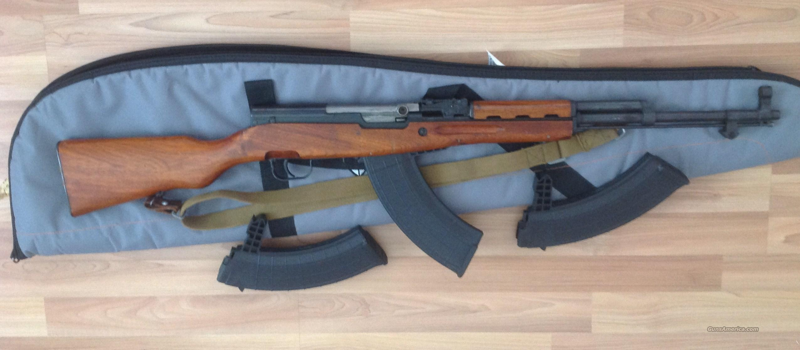 7.62x39mm Chinese SKS with 3 magazines  Guns > Rifles > SKS Rifles