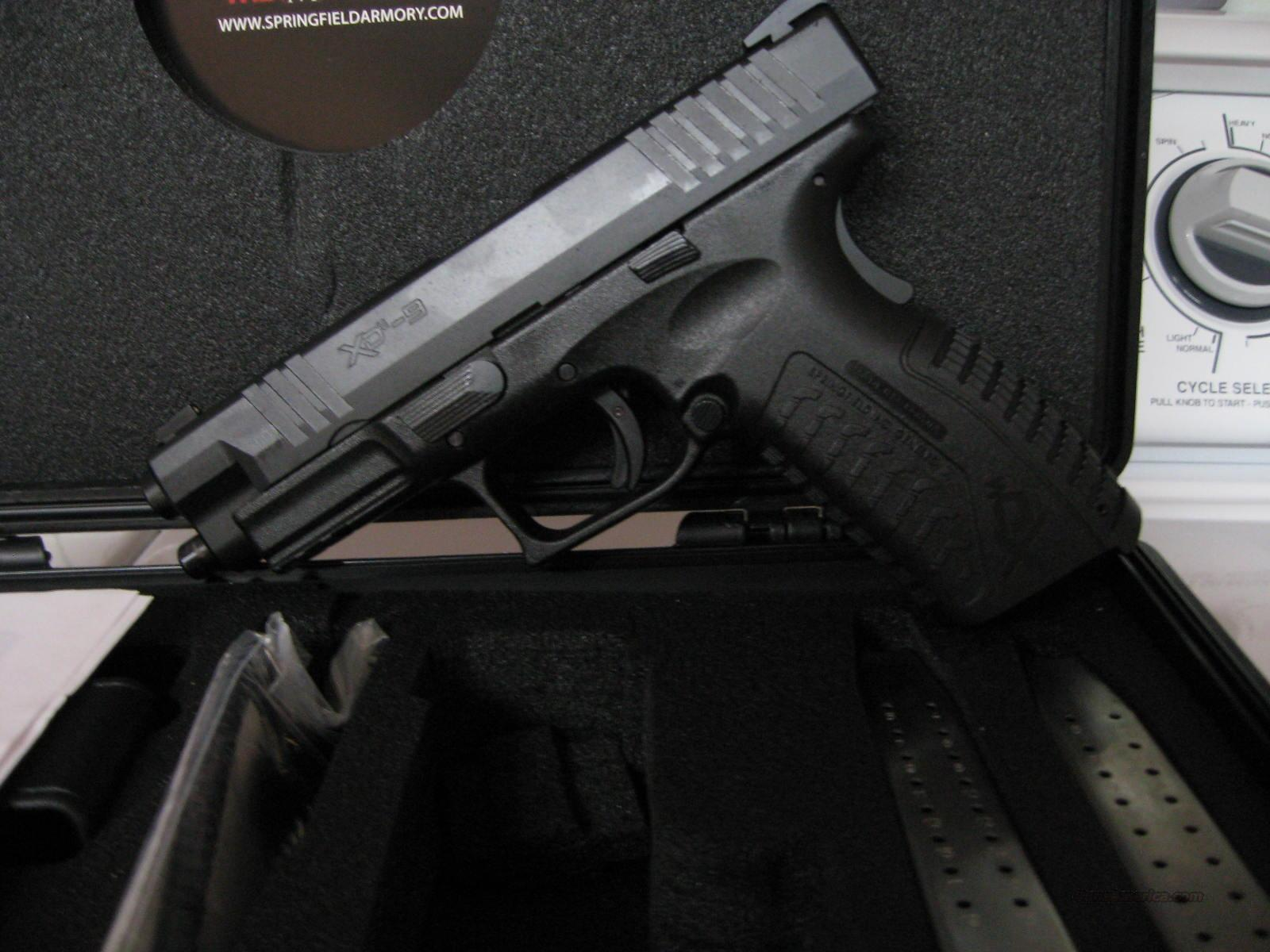 Springfield XDM 9mm 4.5 All Black  Guns > Pistols > Springfield Armory Pistols > XD (eXtreme Duty)