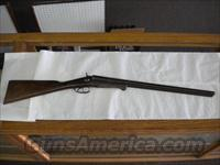 W. Richards 12 ga. Double Barrel  Guns > Shotguns > W Misc Shotguns
