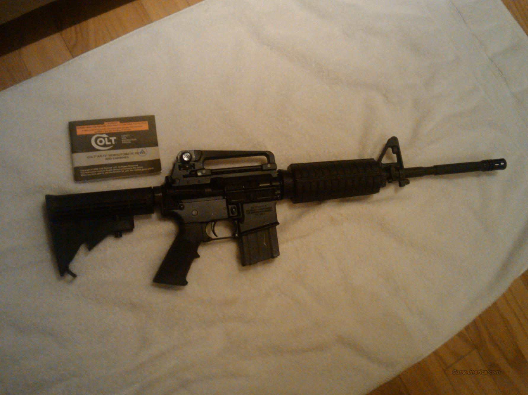 Colt AR-15 Brand New  Guns > Rifles > Colt Military/Tactical Rifles
