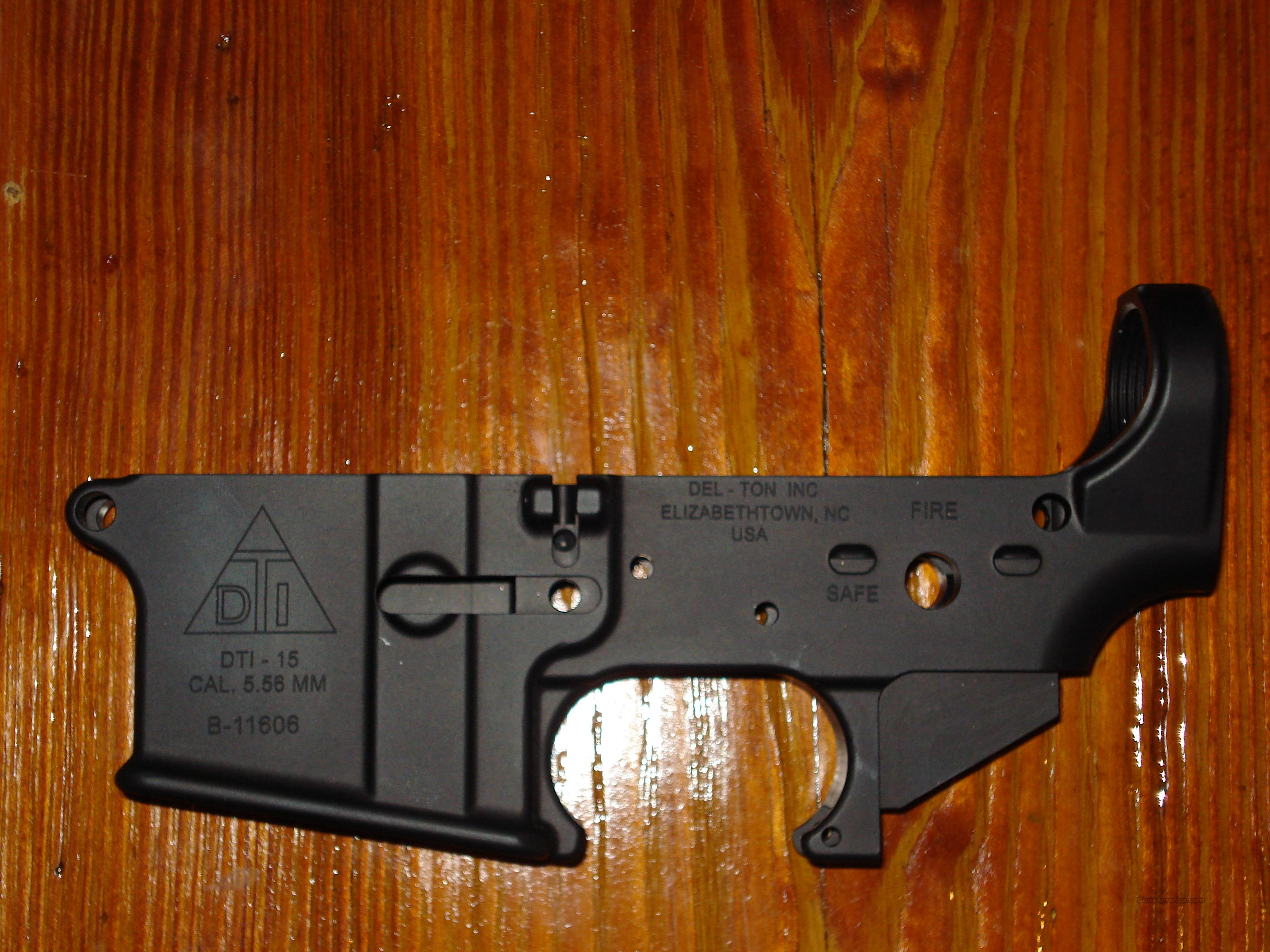 Del-ton DTI stripped AR-15 lower 5.56 .223 SALE  Guns > Rifles > AR-15 Rifles - Small Manufacturers > Lower Only