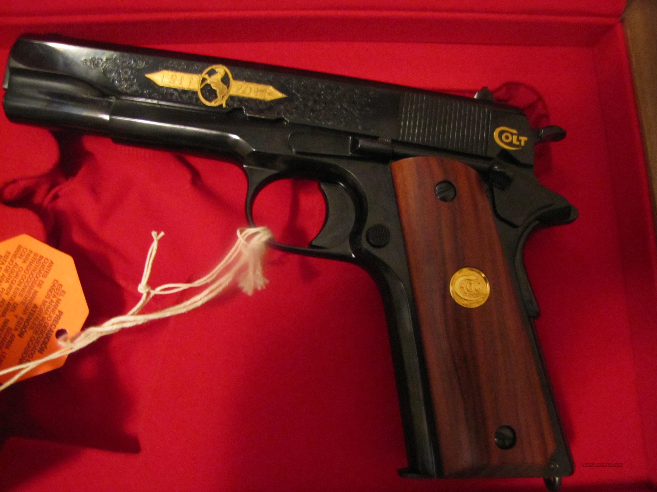 Colt 1911 100 yr anniversary TIER II ONLY 750  Guns > Pistols > Colt Automatic Pistols (1911 & Var)