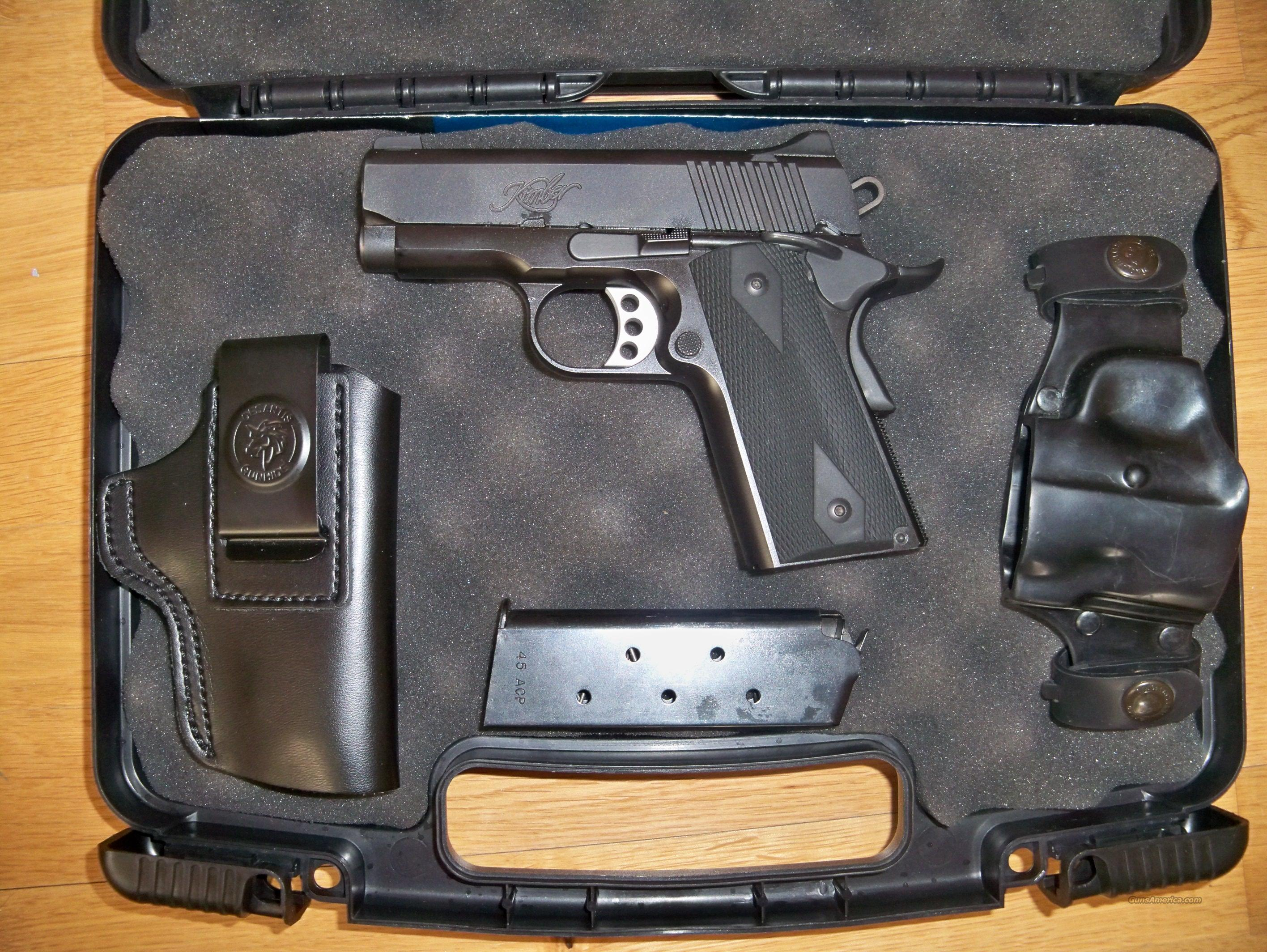 Kimber Ultra Carry II + Holsters for sale