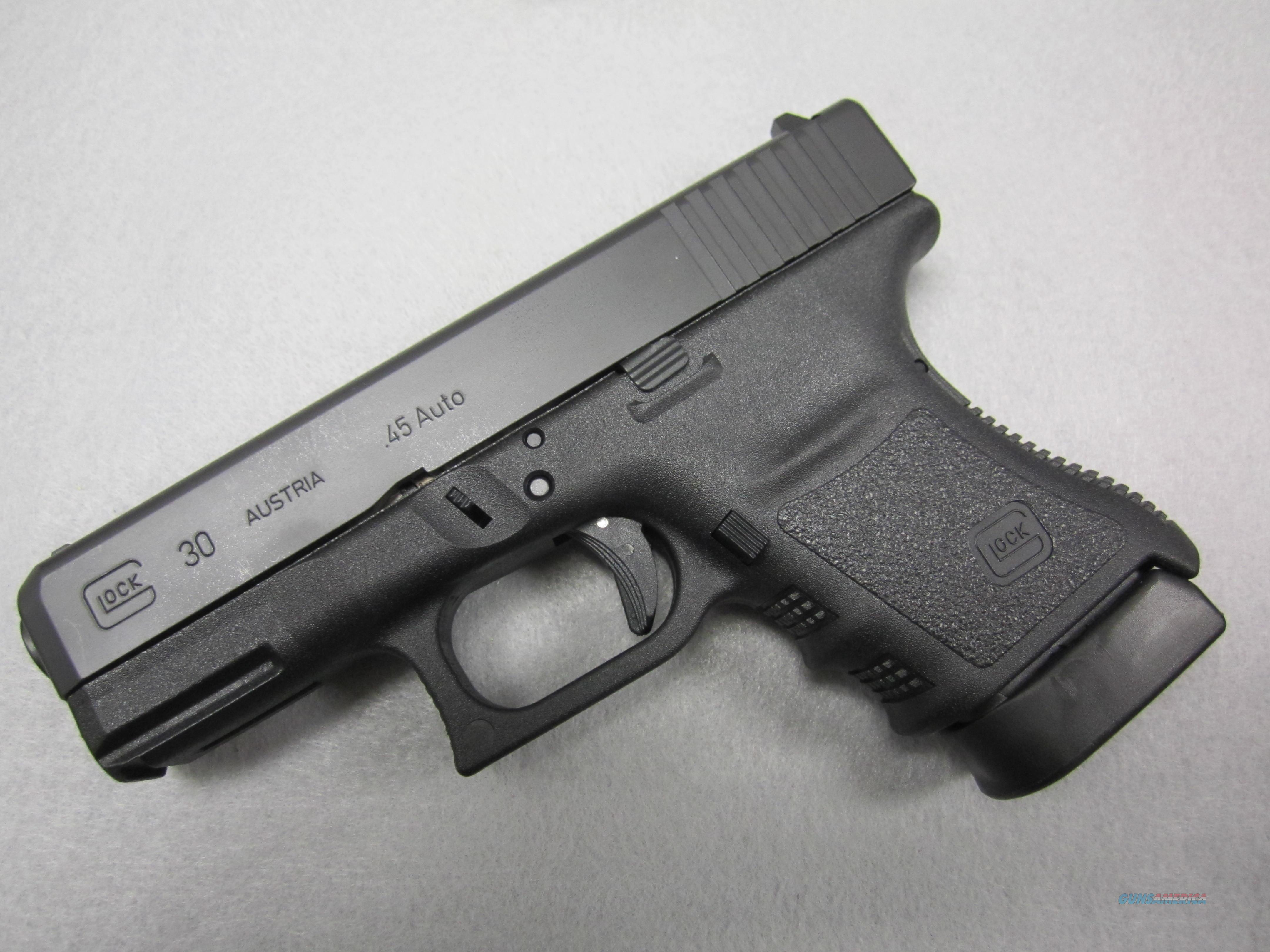 Glock 30SF in .45ACP with two 10 round mags!  Guns > Pistols > Glock Pistols > 29/30/36