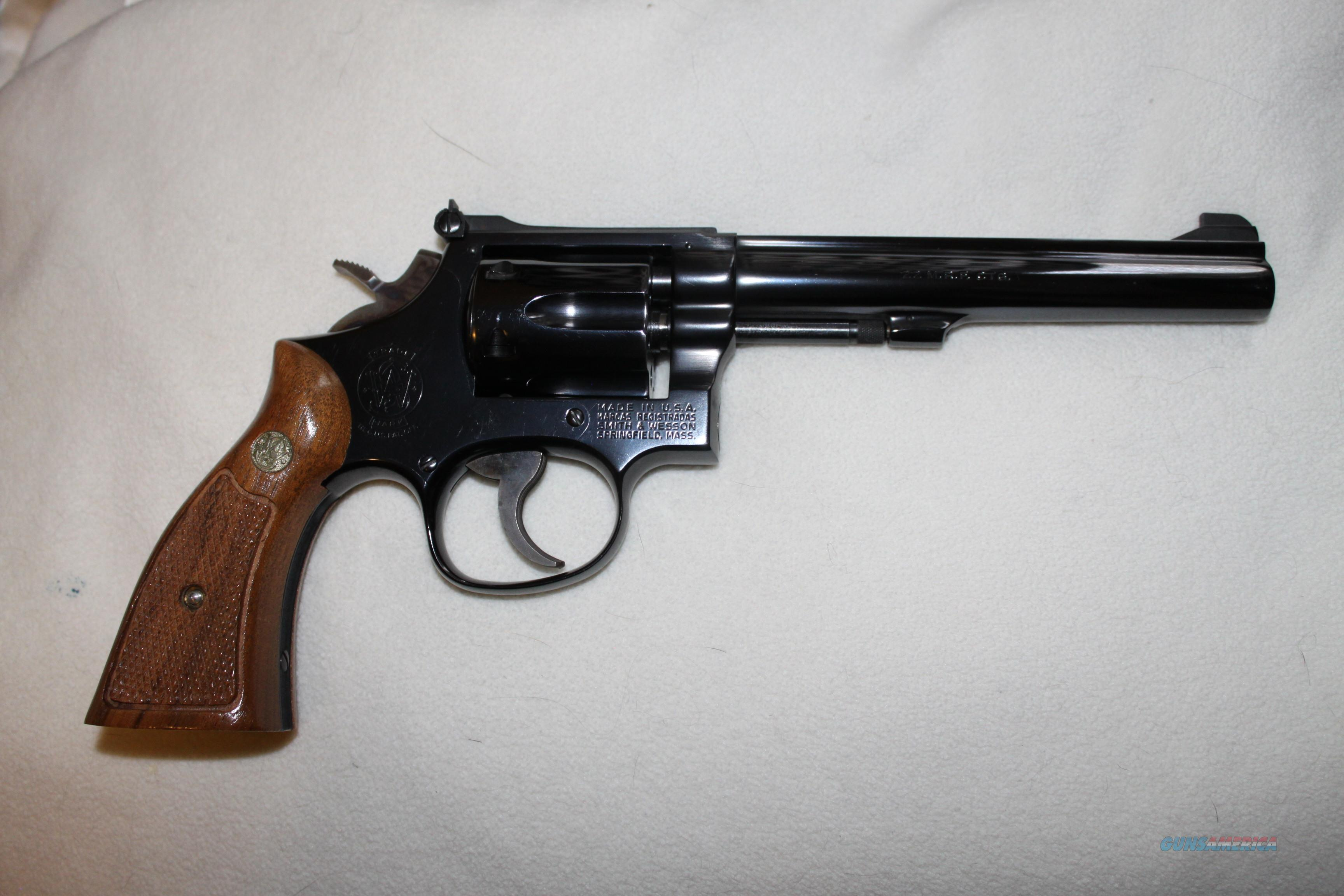 Model 48-4 Smith and Wesson  Guns > Pistols > Smith & Wesson Revolvers > Med. Frame ( K/L )
