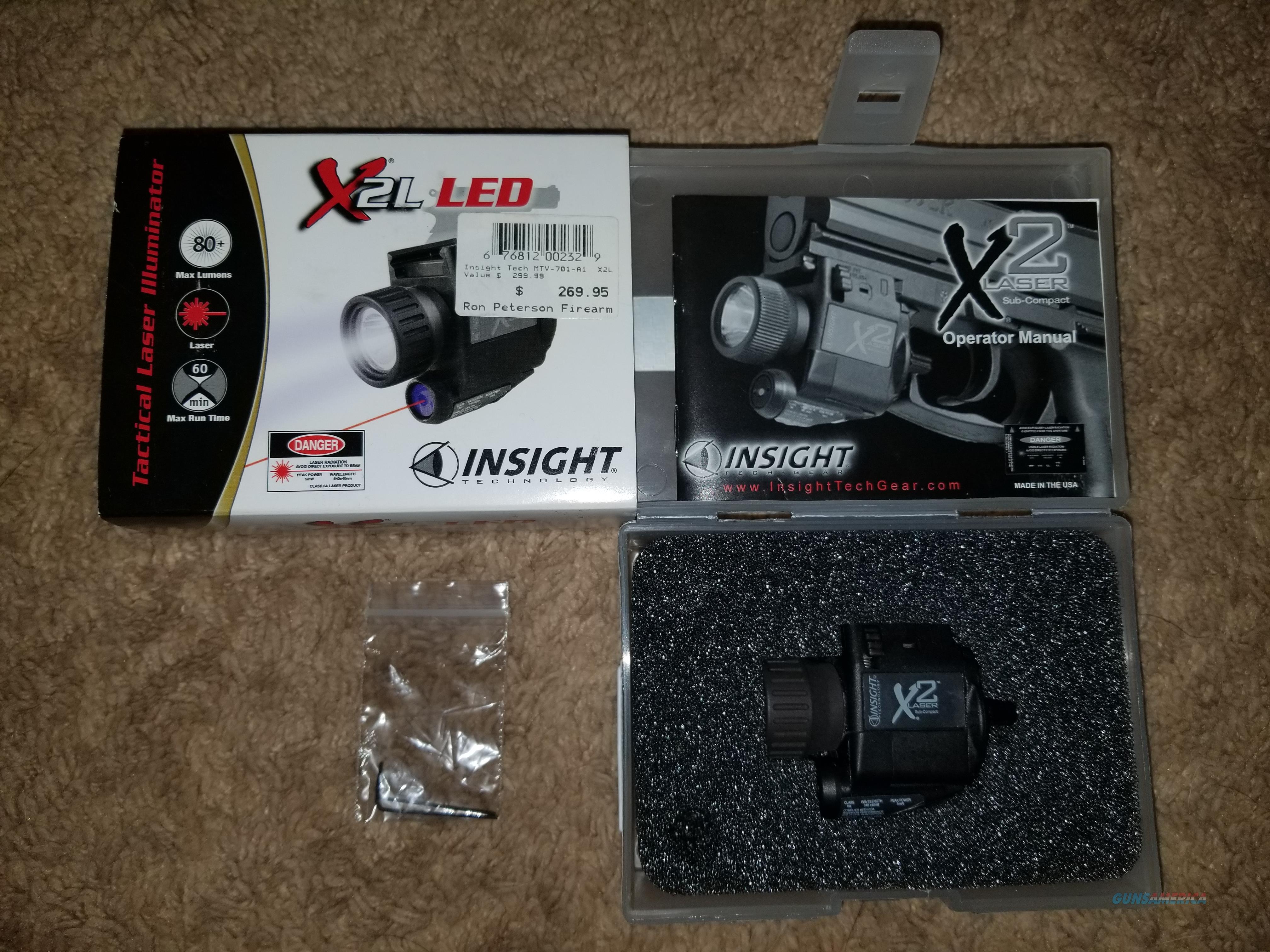 Insight X2L Laser/Light combo   Non-Guns > Lights > Tactical