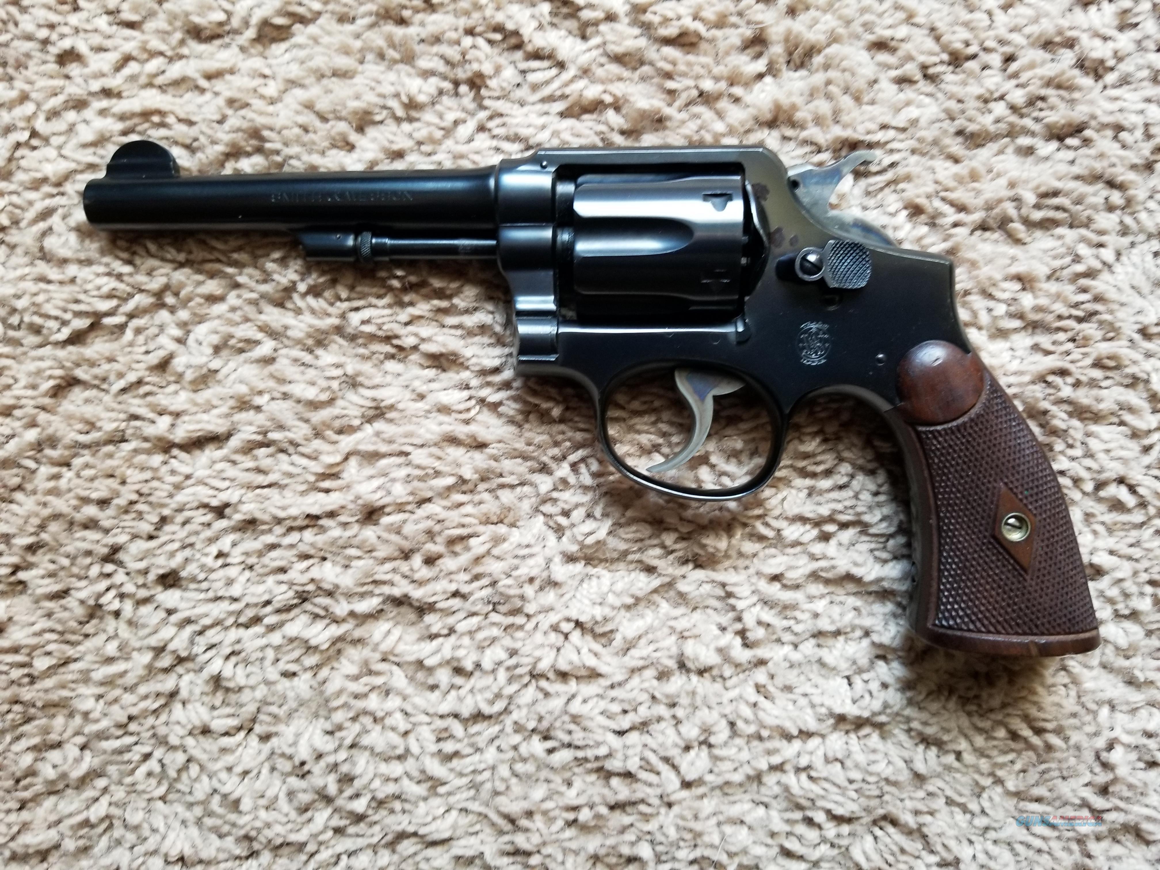 S & W model 1905 4th change   Guns > Pistols > Smith & Wesson Revolvers > Pre-1945