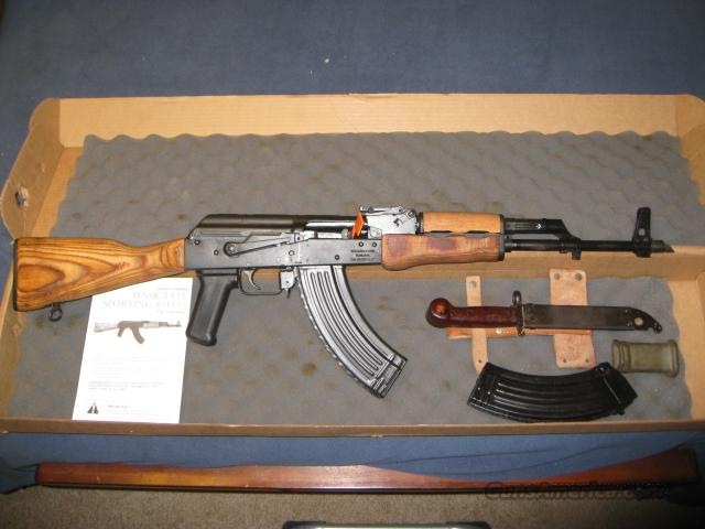Century Arms -- GP WASR-10 HI-CAP AK-47 Semi-Auto Rifle 7.62x39   Guns > Rifles > AK-47 Rifles (and copies) > Full Stock