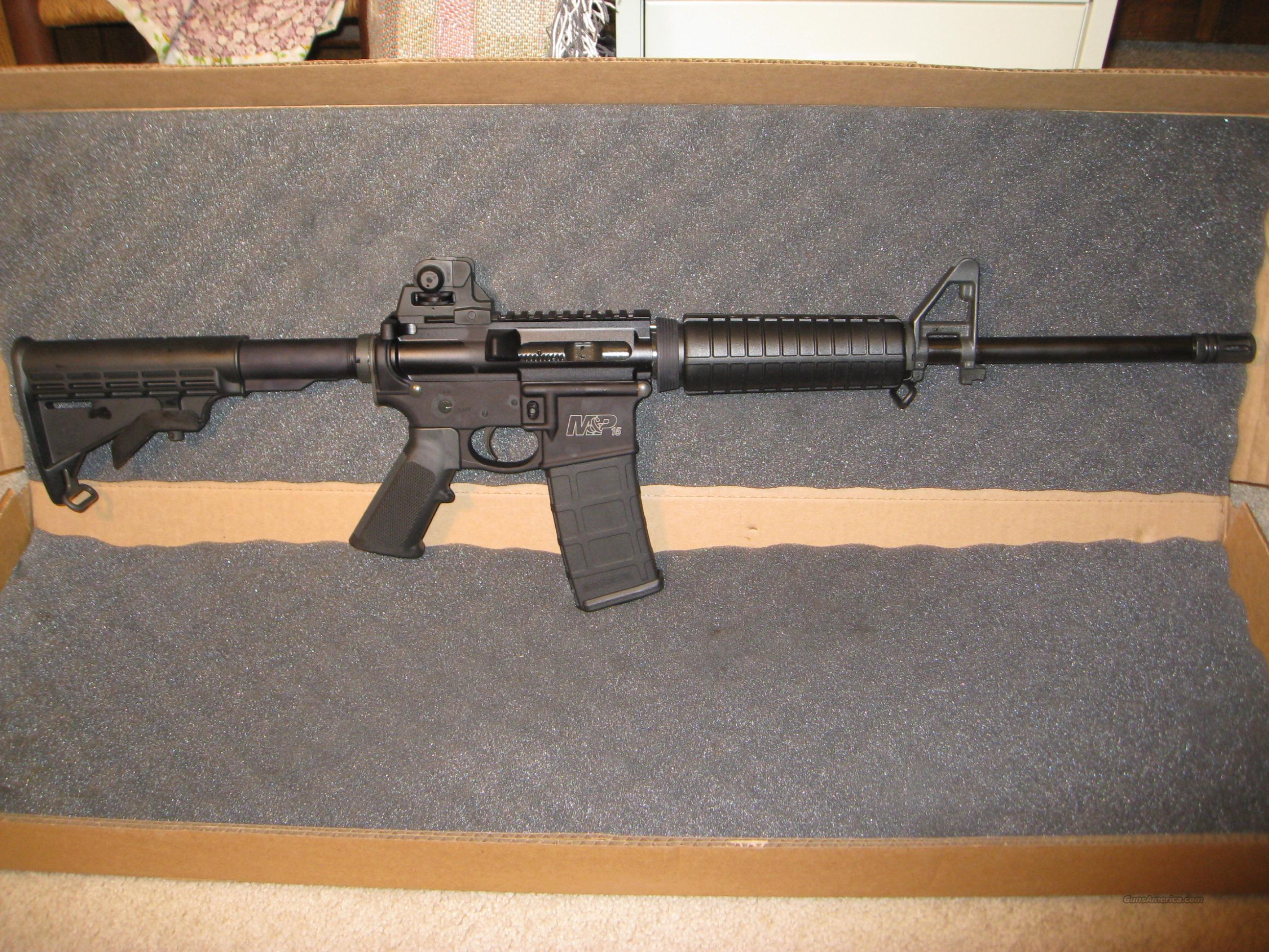 Smith & Wesson M&P AR-15 Type Rifle .223/5.56  Guns > Rifles > AR-15 Rifles - Small Manufacturers > Complete Rifle