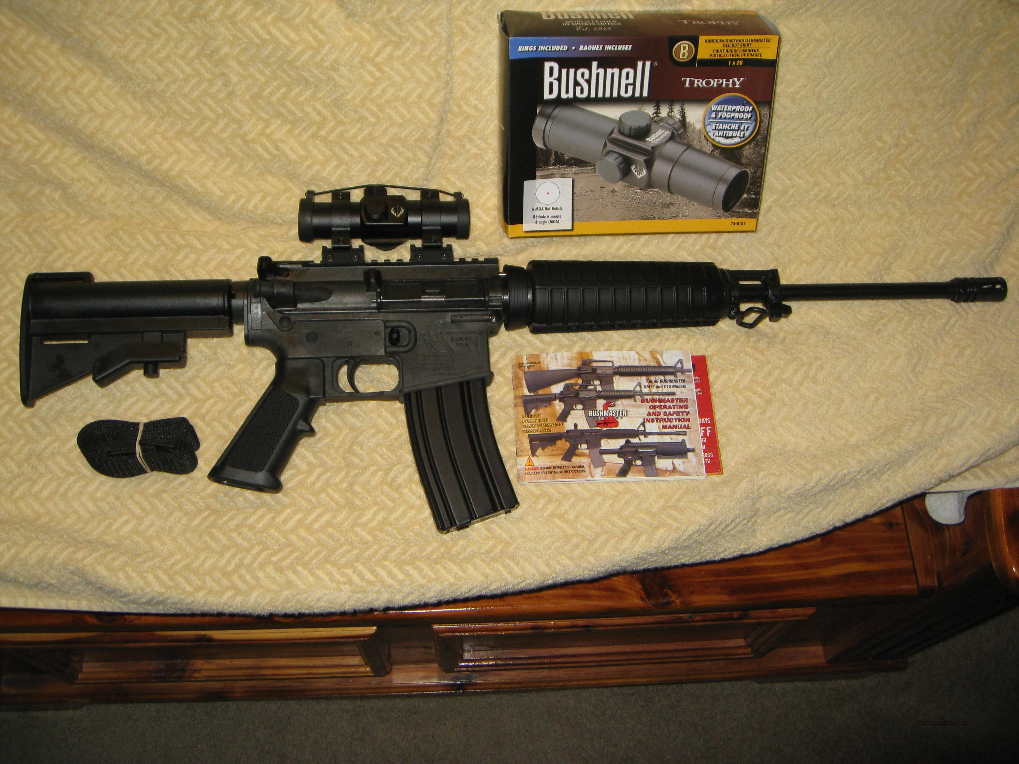 Bushmaster Superlight Carbon-AR15 5.56/.223   Guns > Rifles > Bushmaster Rifles > Complete Rifles