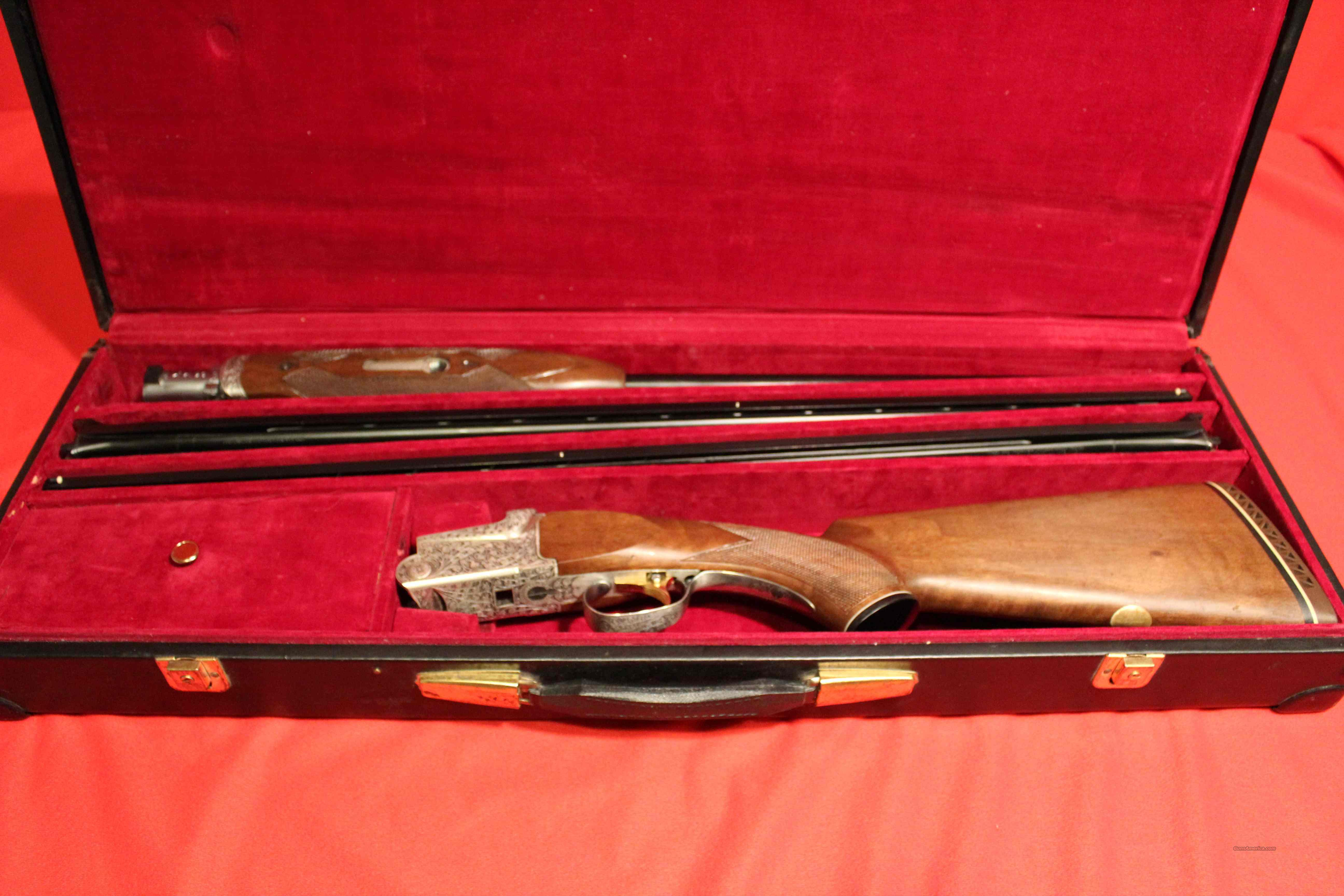 SKB Model 600 Skeet Grade Combo Set, 20/28/410 w/ Original Case   Guns > Shotguns > SKB Shotguns > Trap/Skeet
