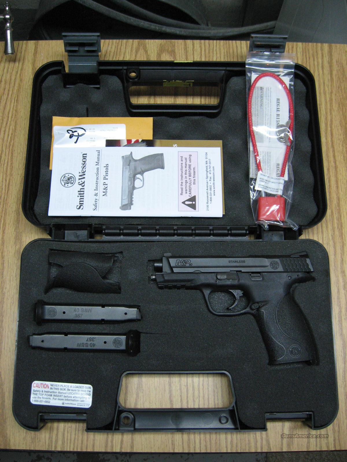 smith and wesson m&p 40  Guns > Pistols > Smith & Wesson Pistols - Autos > Polymer Frame