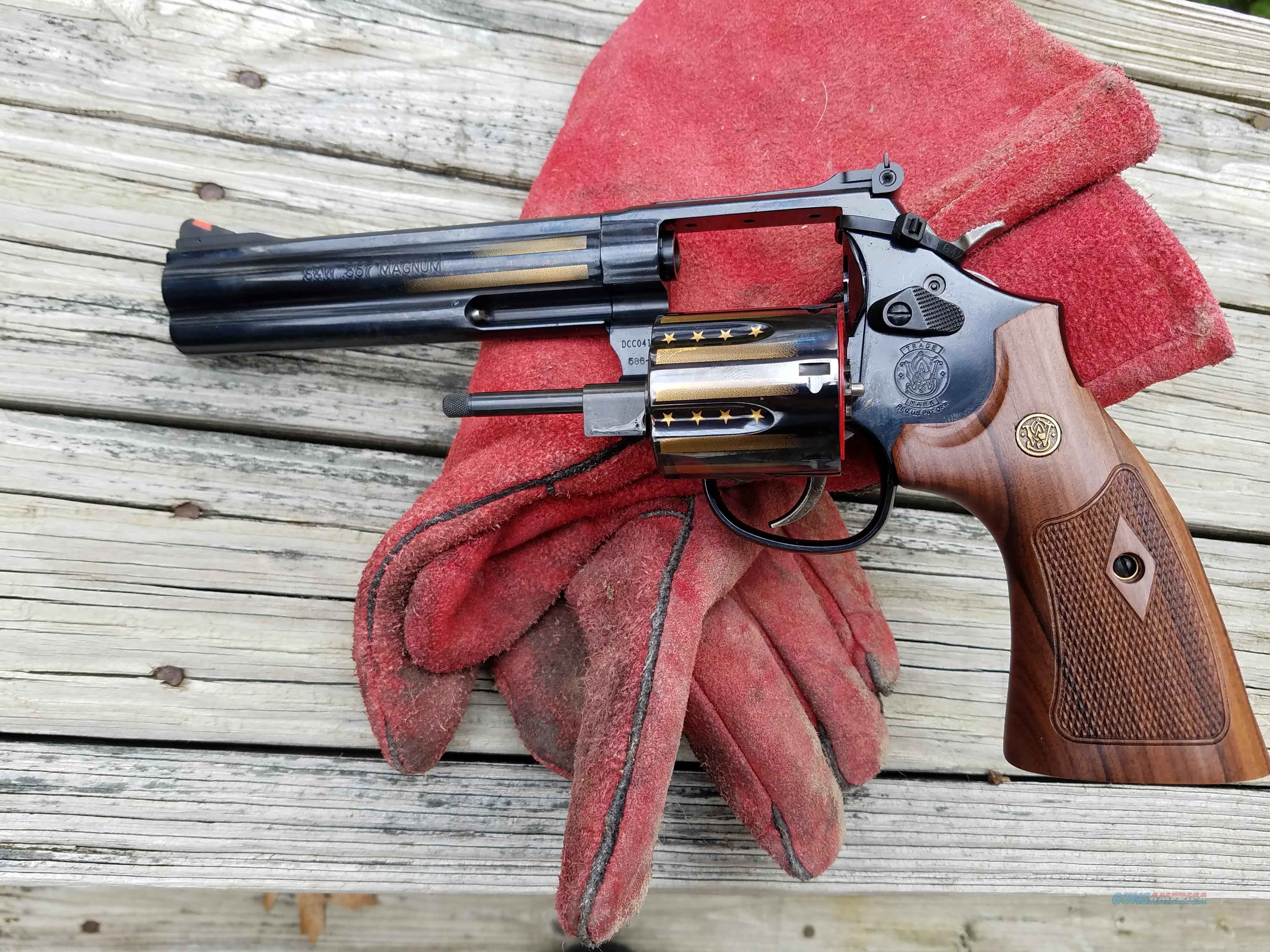 S&W 586-8  .357 Mag.  Price Cut - Make an offer  Guns > Pistols > Smith & Wesson Revolvers > Med. Frame ( K/L )