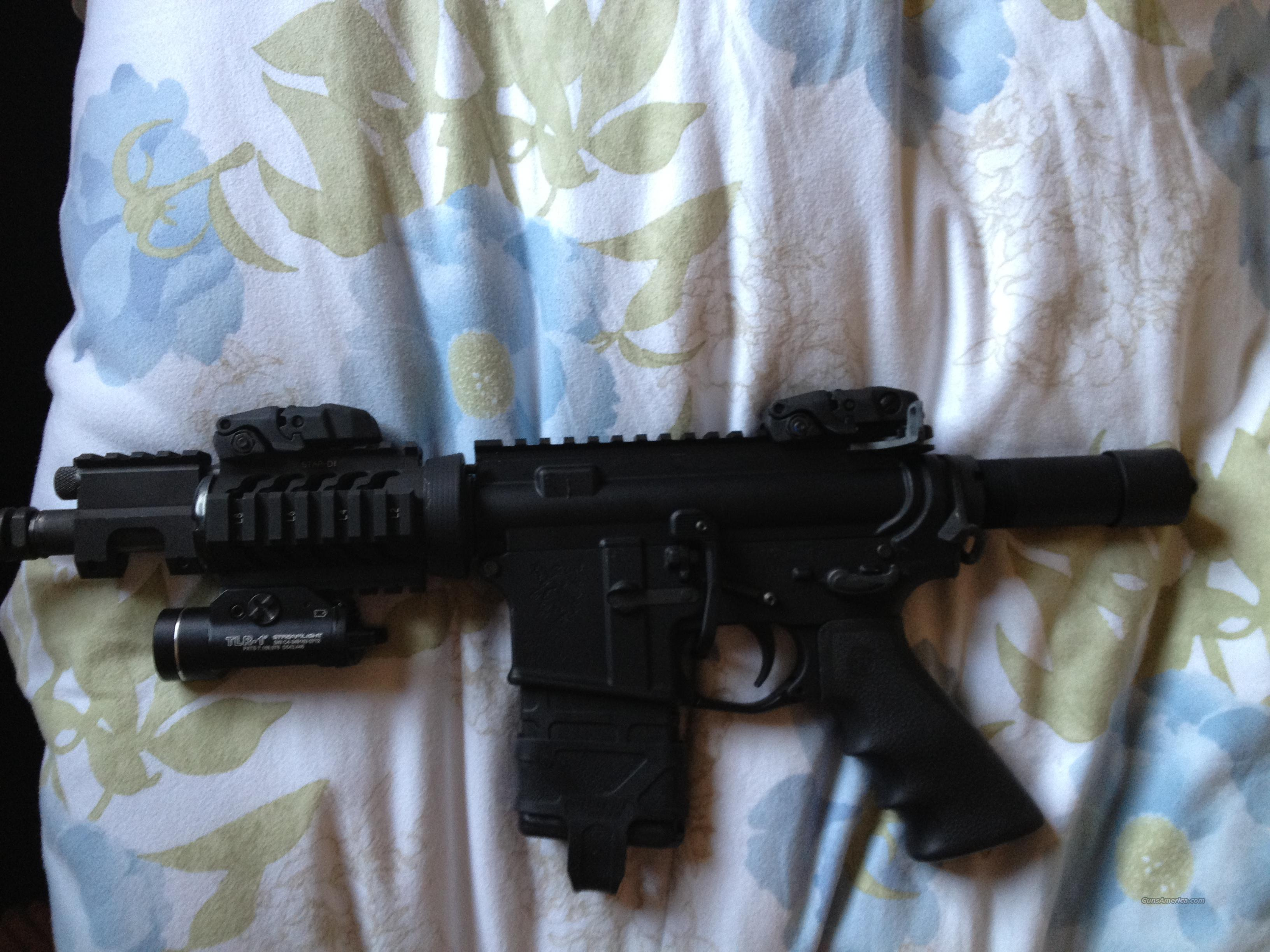 AR-15 Pistol w/ Adams Arms Piston Kit  Guns > Rifles > AR-15 Rifles - Small Manufacturers > Complete Rifle
