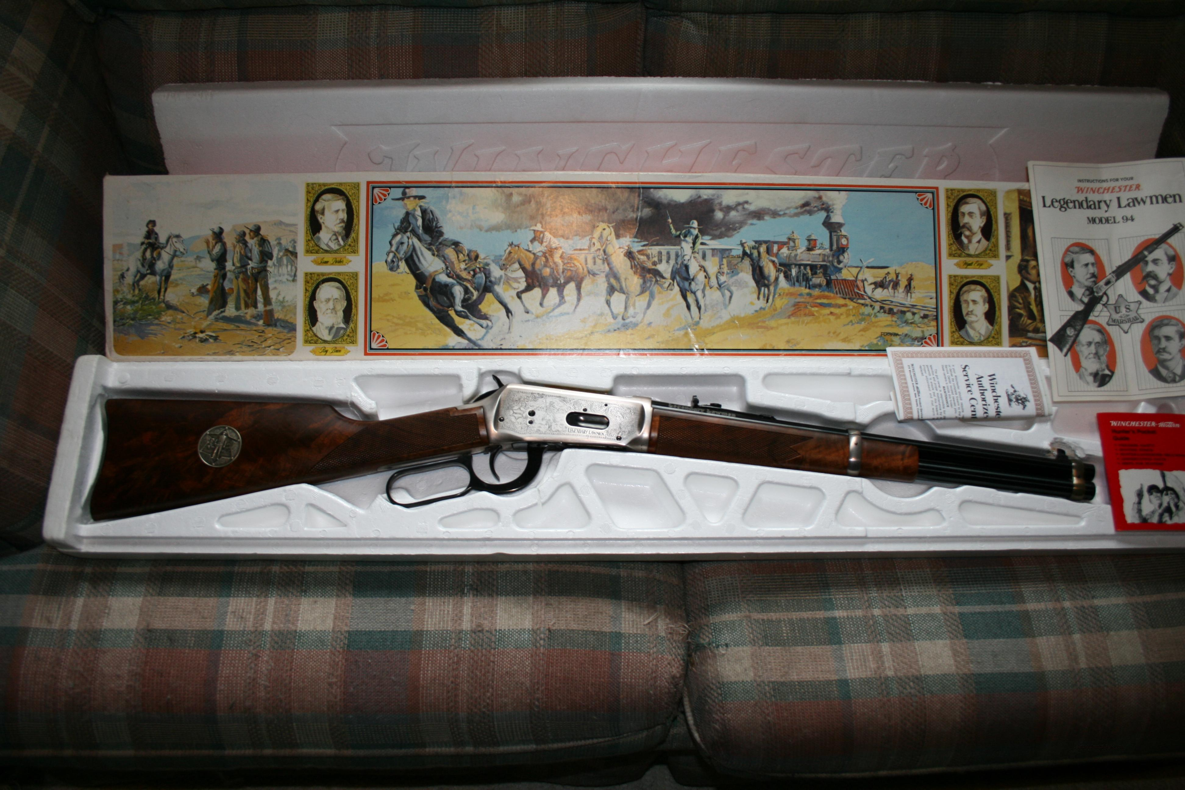 Winchester 94 Legendary Lawmen NIB  Guns > Rifles > Winchester Rifle Commemoratives