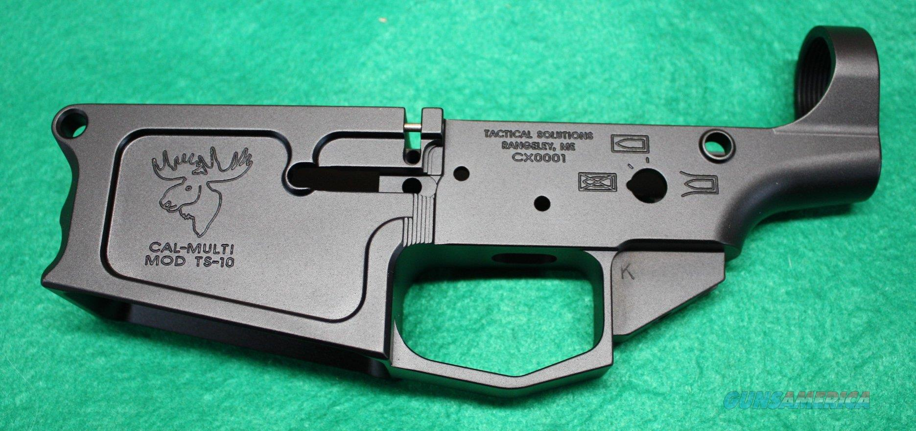 TACTICAL SOLUTIONS AR-10 BILLET LOWER RECEIVER $149.95 NEW  Guns > Rifles > Tactical Rifles Misc.