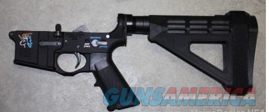 Spikes Tactical SnowFlake Pistol Lower w/SB Tactical Brace NIB $385  Guns > Pistols > Spikes Tactical Pistols