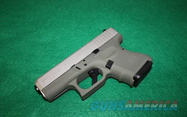 GLOCK 26 GEN 4 UG2650204CKFGSA Exclusive Flat Gray/Silver $619  Guns > Pistols > Glock Pistols > 26/27