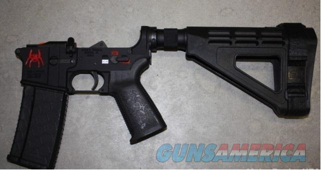 Spikes Tactical ST15 Pistol Lower Red Spider SB Tactical Brace $375  Guns > Pistols > Spikes Tactical Pistols