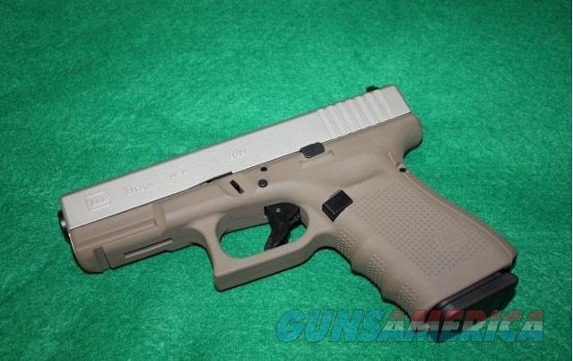 GLOCK 19 GEN 4 UG1950204CKFGSA Exclusive Flat Gray/Silver $619  Guns > Pistols > Glock Pistols > 19/19X