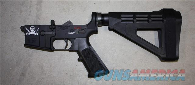 Spikes Tactical ST-15 Calico Jack Pistol Lower with Brace $375  Guns > Pistols > Spikes Tactical Pistols
