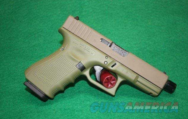 GLOCK 19 Gen4 19502-04CKBGFD w/Threaded Barrel $745  Guns > Pistols > Glock Pistols > 19/19X