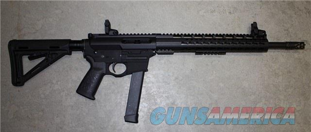 "Spikes Tactical ST9-G Rifle Glock 9mm Mags AR-15 16"" NIB $1150  Guns > Rifles > Spikes Tactical Rifles"