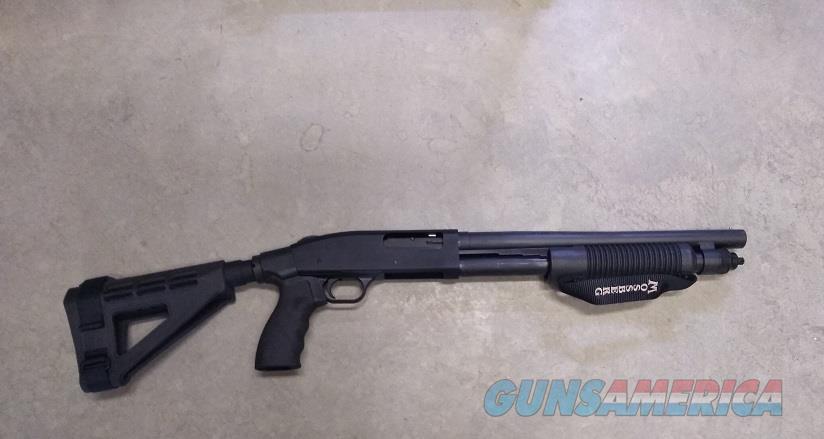Mossberg Shockwave with SB Tactical Pistol Grip12ga Pump 5+1cap  NIB  Guns > Shotguns > Mossberg Shotguns > Pump > Tactical