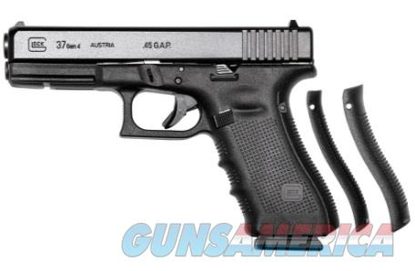 "GLOCK 37 Gen 4 45GAP 4.49"" SemiAuto 10+1 $429 NIB  Guns > Pistols > Glock Pistols > 37"