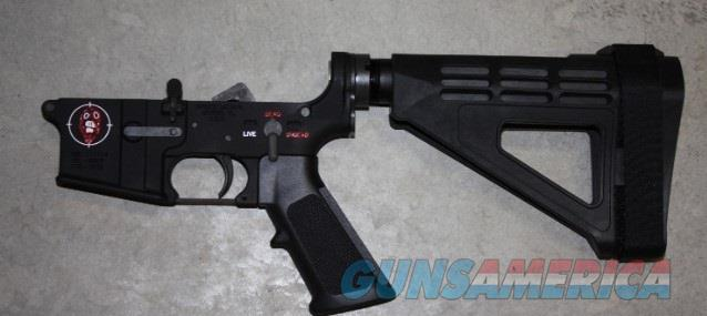Spikes ST-15 Zombie Pistol Lower w/ SB Tactical Brace $375  Guns > Pistols > Spikes Tactical Pistols