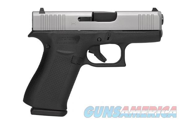 Glock 43X Silver Slide 9mm 10+1 cap w/2 mags PX-435SL2-01 NIB  Guns > Pistols > Glock Pistols > 43