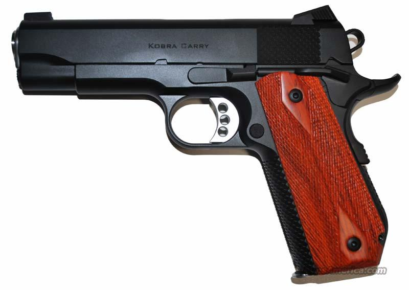 Ed Brown Kobra Carry S/S with Black Gen 3  Guns > Pistols > Ed Brown Pistols