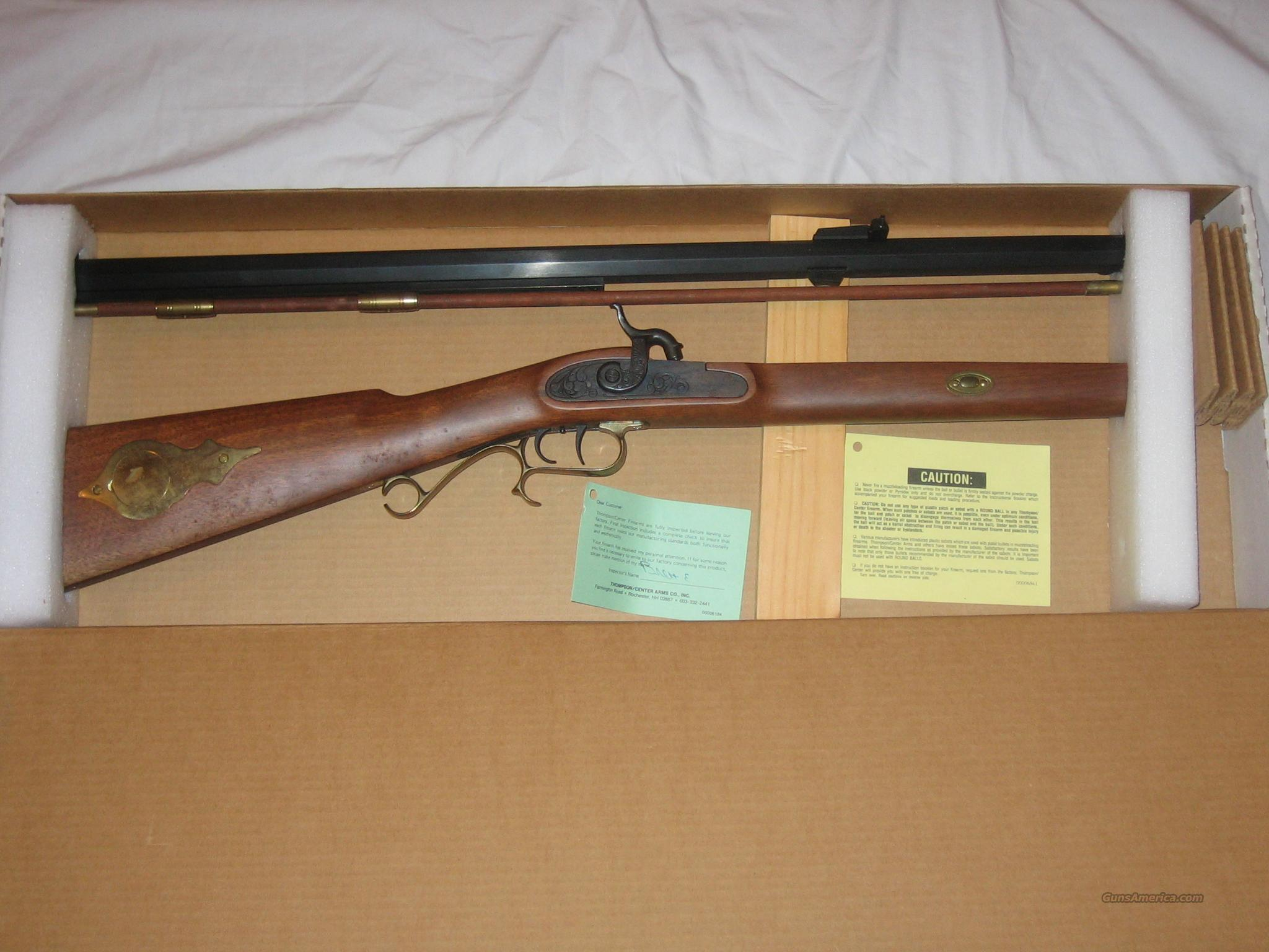 Thompson Center Hawken .50cal NIB No reserve   Guns > Rifles > Thompson Center Muzzleloaders > Hawken Style