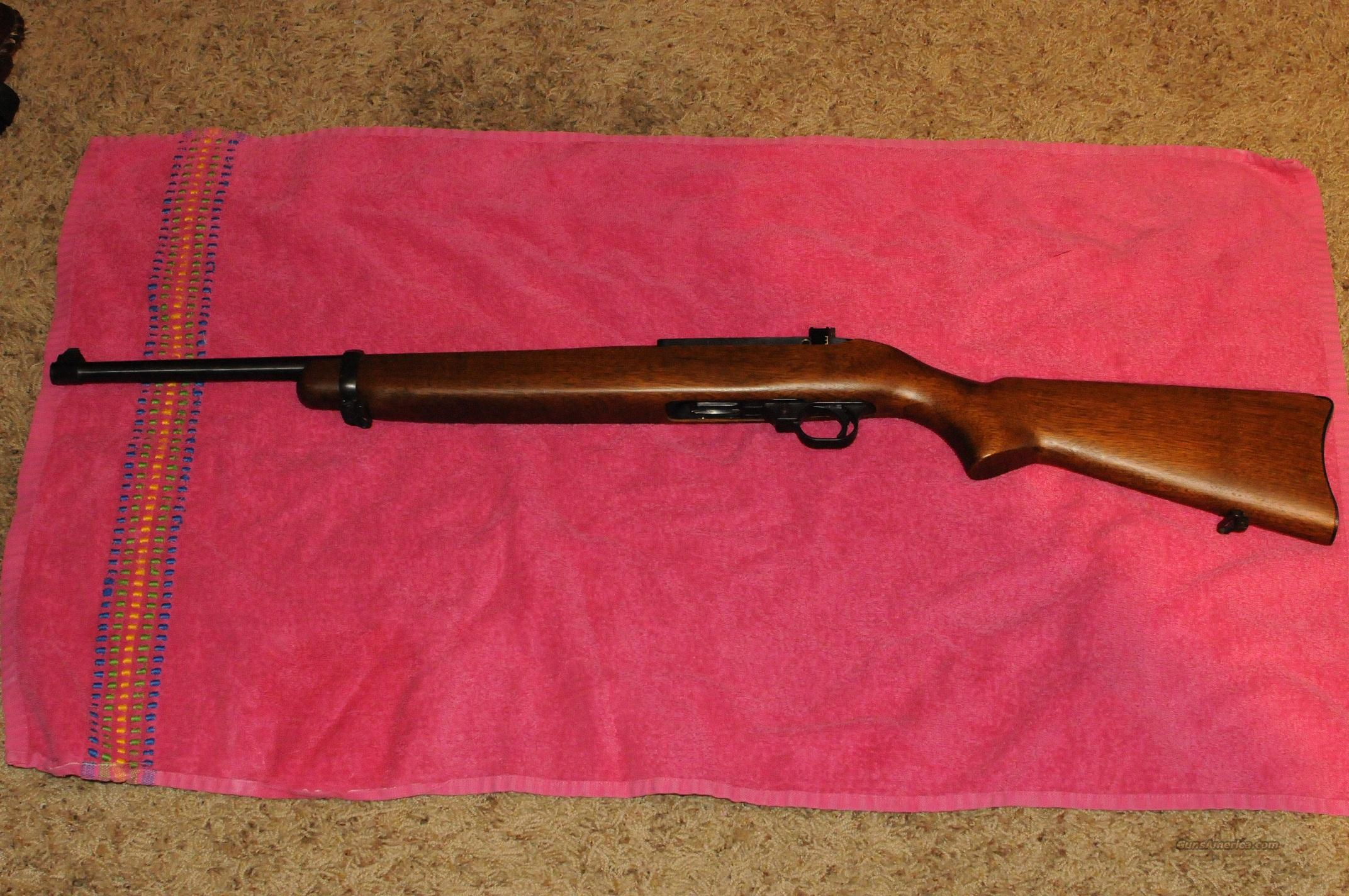Ruger Carbine Rifle 44 Magnum (1971 model)  Guns > Rifles > Ruger Rifles > M44/Carbine