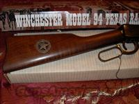 Texas Ranger Commemorative model 94 Winchester 30-30  Guns > Rifles > Winchester Rifle Commemoratives