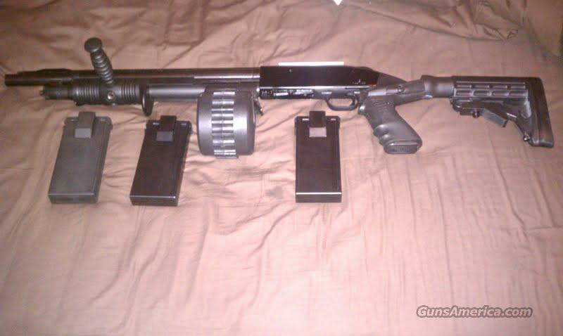 City Of Henderson Nv >> Mossberg 500a w/ Knoxx Drum & Mags. for sale