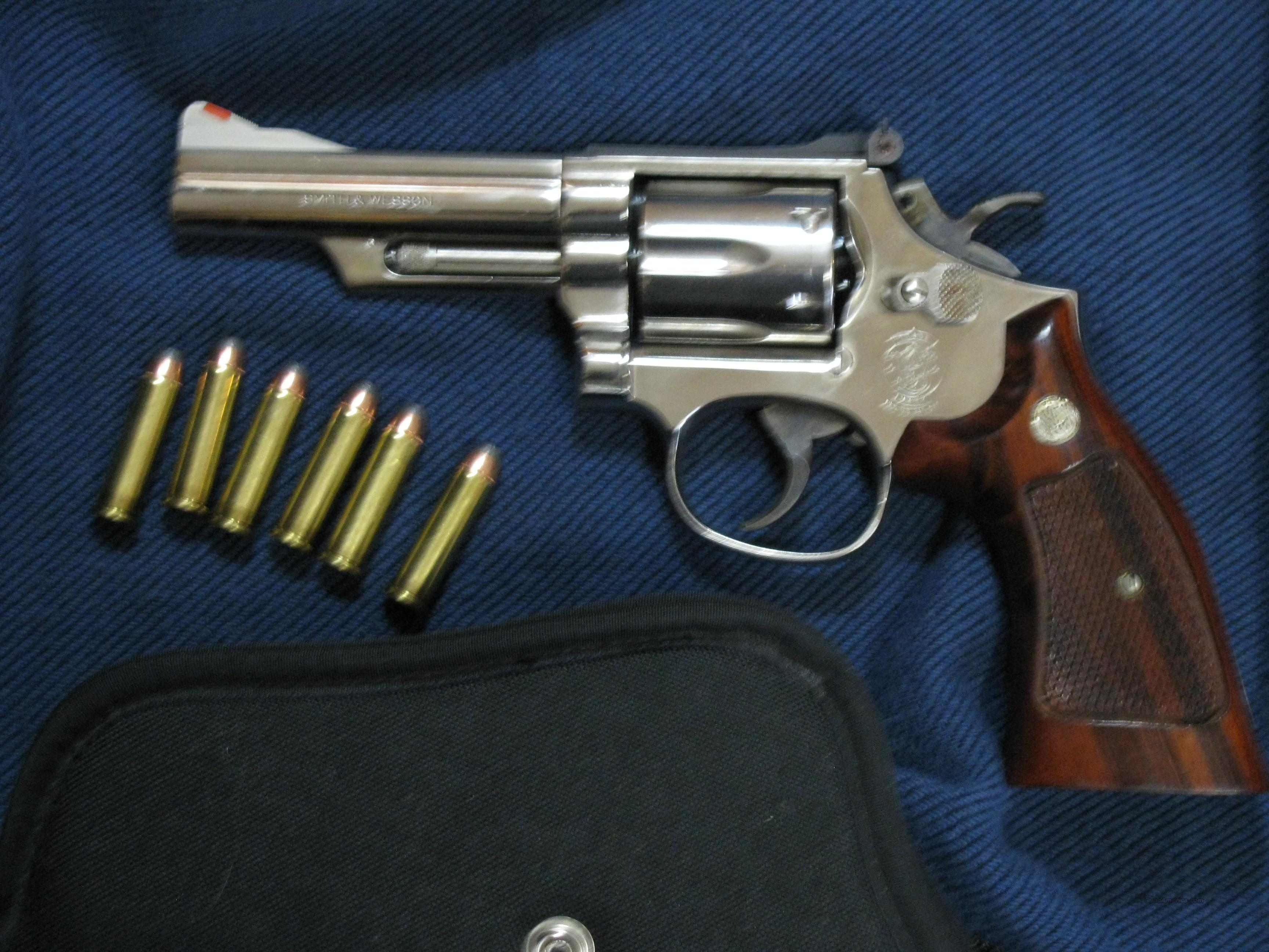 Smith Wesson Model 19-5 357 Magnum  Guns > Pistols > Smith & Wesson Revolvers > Full Frame Revolver