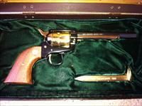 Colt Golden Spike Commemorative Revolver  MINT  Guns > Pistols > Colt Commemorative Pistols